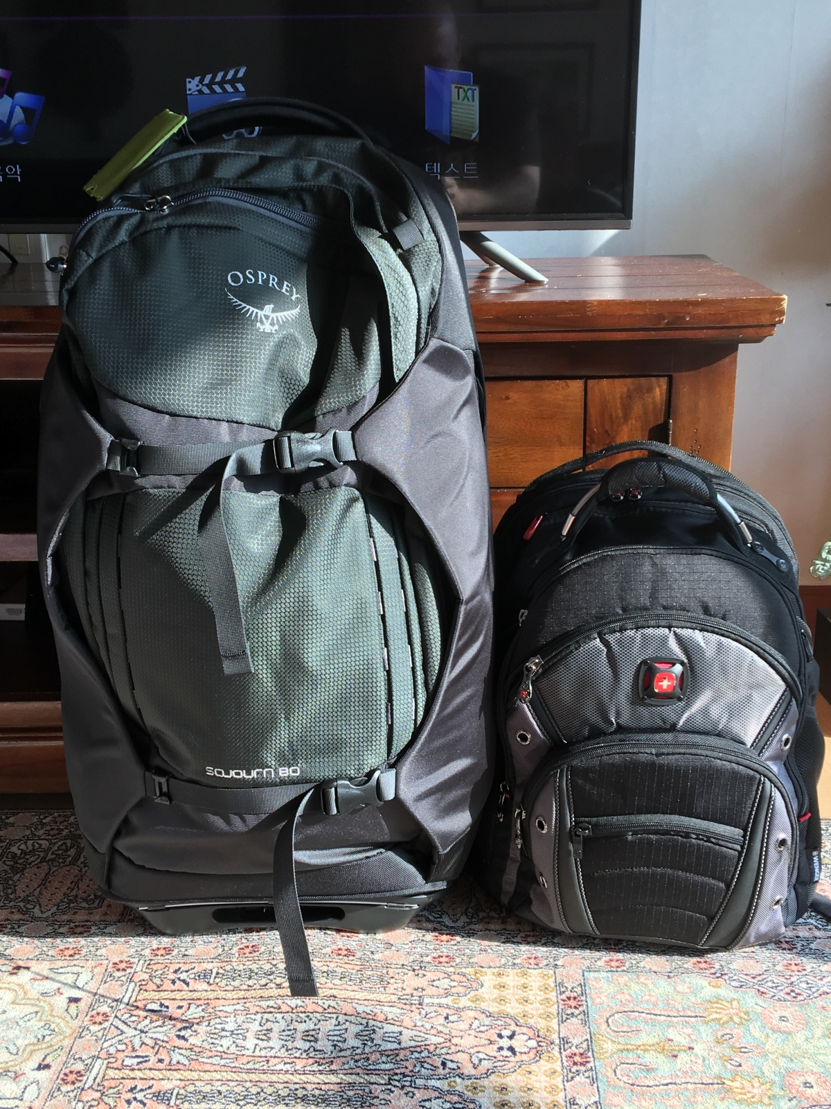 The Travel Gear Diaries: Part 1-Backpacks for an Around the World Trip
