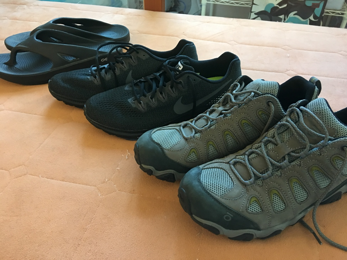 The Travel Gear Diaries: Part 2-Footwear for an Around the World Trip