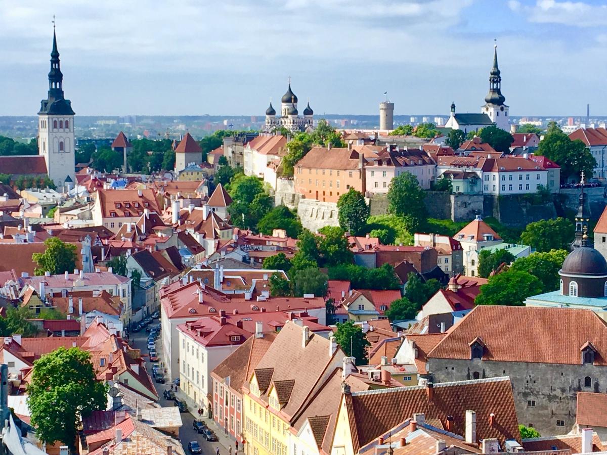 Day 18: White Nights in Tallinn,Estonia