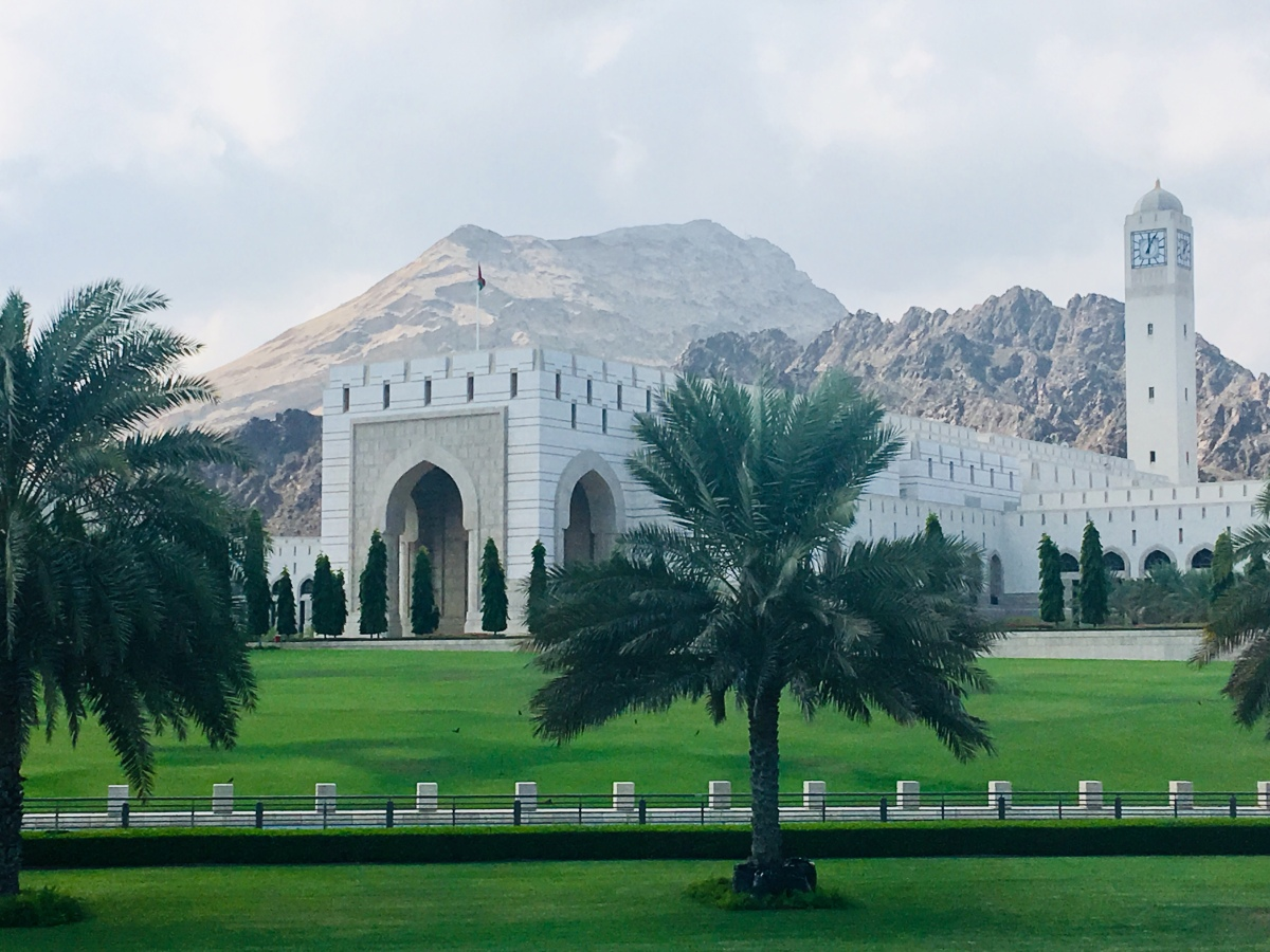 Day 144: The Middle East Starts inOman